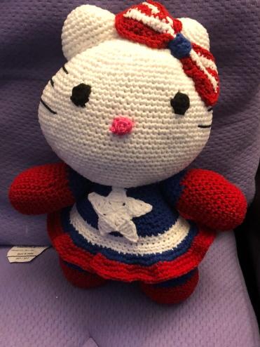 Cosplay Kitty - Captain America