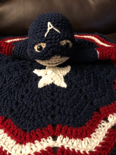 Captain America Snuggler